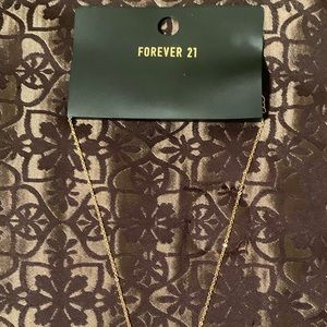 Forever 21 Necklace Gold